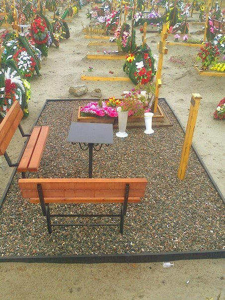 Благоустройство и уход за могилами
