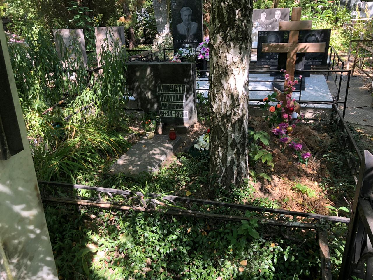 Уборка могил